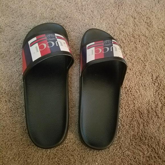 d1b03c2c8e9 Gucci Other - Gucci Slides for Men US size 11